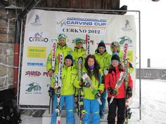 Contestants of the World Ski Cup Women's Carving event received Speaking Roses! Congrats Speaking Roses Slovenia!