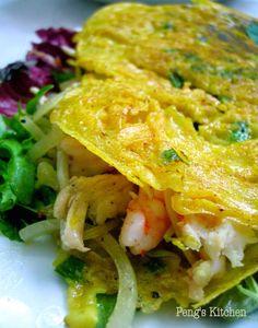 Vietnamese Sizzling Crepes (Banh Xeo) Recipe on Yummly. @yummly #recipe