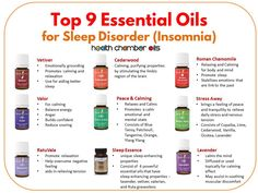 TOP 9 Young Living Essential Oil For Sleep disorder/Sleep Problem/Insomnia