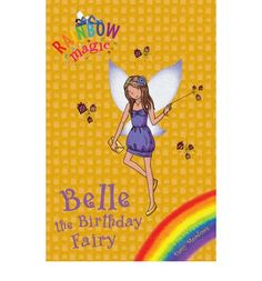 Image result for rainbow magic belle birthday fairy