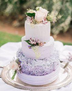 WEBSTA @ weddingchicks - Lavender cake heaven   #photography by…