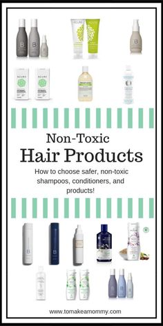 A guide to toxins in conventional hair products linked to infertility and miscarriage, and how to choose non-toxic safer shampoos, conditioners, and hair treatments.