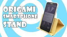 Learn how to make very easy origami smartphone Stand/Holder step by step tutorial. Make this cool origami model, just to watch other origami videos or just f. Origami Videos, Origami Easy, Types Of Purses, Music Backgrounds, Paper Moon, Origami Instructions, Smartphone, Lettering, Learning