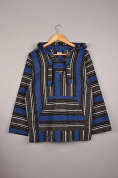 hippie cardigan, bohemian jacket, boho jumper, aztec hoodie, navajo hoodie, mexican sweaters, hippie jacket, hippie hoodie, festival hoodie door getfittedvintage op Etsy