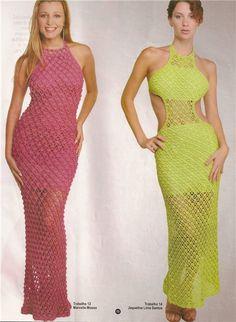 Inspirações de Croche com Any Lucy: Vestido GRAFICO portugues