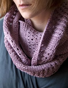 Canaletto Cowl -free pattern #knit