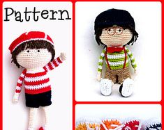 Crochet Fairy Doll Pattern by Tootylou by TootyLou on Etsy