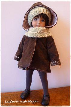 Ensemble de poupée Little Darling Effner par LesCouturesdeMagda, €26.00