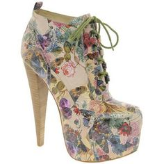Floral boot!