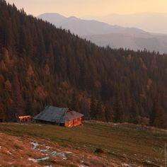 mountain cabin -