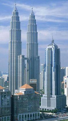 Kuala Lumpur, Malaysia,  The viewing bridge was definitely high enough!