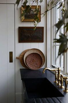Decoration Inspiration, Interior Inspiration, Rustic Kitchen, Kitchen Decor, Kitchen Design, Kitchen Modern, Minimalist Kitchen, Wooden Kitchen, Kitchen Ideas