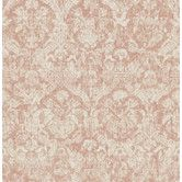 "Found it at Wayfair Supply - Empress Lotus 33' x 20.5"" Damask Wallpaper"