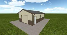 Cool 3D #marketing http://ift.tt/2zb5YaC #barn #workshop #greenhouse #garage #roofing #DIY