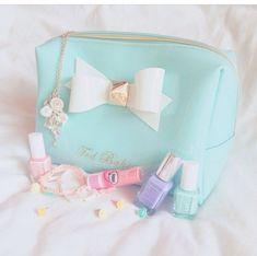 Ted Baker make-up bag Barry M nail polish