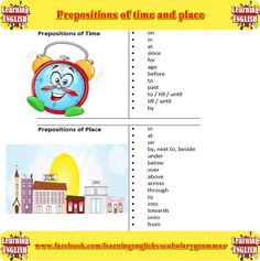 prepplace time - learning English grammar
