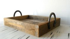 Horse Shoe Serving Tray