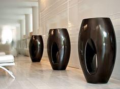 High polyethylene vase