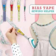 Make your biases tape in minutes instead of hours using this Fabric Bias Tape Maker that will surely fit in different sewing machines! face mask sewing pattern easy videos PERFECT BIAS TAPE IN MINUTES! Sewing Basics, Sewing For Beginners, Sewing Hacks, Sewing Tutorials, Sewing Crafts, Sewing Projects, Dress Tutorials, Techniques Couture, Sewing Techniques