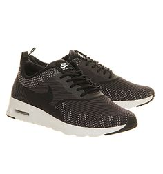 promo code fe54b 57ad0 Nike Air Max Thea Black Jacquard - Hers trainers