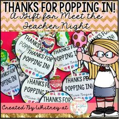 Overview:Looking for a cute and easy gift for Meet the Teacher Night or Open…