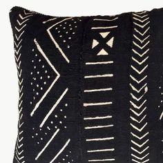 MALI MUD cloth 50cm cushions | Tribal Bohemian Luxe | dosombre.com