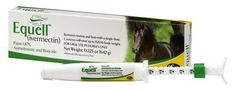 Equell ivermectin Paste by Pfizer. $8.38. Contains 1.87% ivermectin. For use in horses of all ages, including mares at any stage of pregnancy, for the removal & control of large and small strongyles, pinworms, ascarids, hairworms, stomach worms, bots, lungworms and threadworms. Each syringe treats up to 1,320 lbs body wt.. Save 43%!
