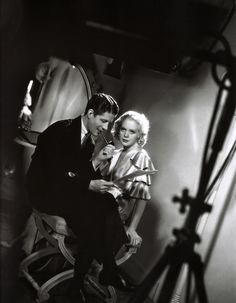 Alice Faye with Rudy Vallee in  George White's Scandals
