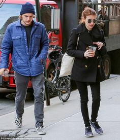 Loved-up Emma Roberts and Evan Peters pack on the PDA #dailymail