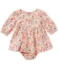 Starting Out Baby Girls Newborn-24 Months Floral Woven Dress #Dillards