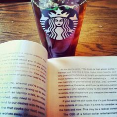 Starbucks & a good book :) #Starbucks #firess #thefirestartersessions #perfect