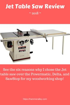 Shop Fox W1851 Hybrid Table Saw Comparison Cabinet Table