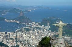 Top travel destinations for Brazilians: Rio de Janeiro. There so much culture here and the scenery is perfect.