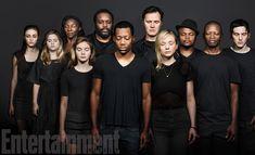 Fotografias dos personagens falecidos de The Walking Dead pela Entertainment Weekly