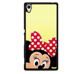 Minnie Mouse Face TATUM-7340 Sony Phonecase Cover For Xperia Z1, Xperia Z2, Xperia Z3, Xperia Z4, Xperia Z5