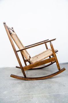 rocking chair by helge vestergaard jensen the exceptional rocking