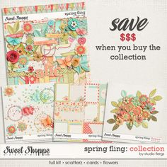 Spring Fling: COLLECTION by Studio Flergs available in Sweet Shoppe Designs