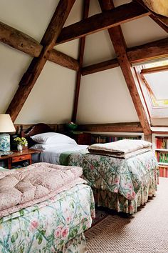 Attic Bedroom - Emma Burns' Converted Stable Block