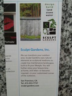 Sculpt gardens CA