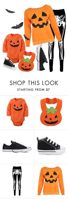 """Untitled #2749"" by moria801 ❤ liked on Polyvore featuring Carter's, Converse and Boohoo"