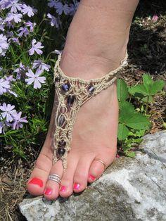 Macrame Barefoot sandal