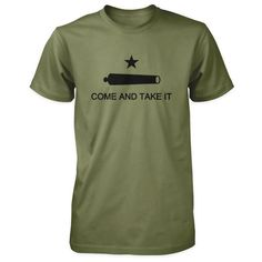 Texas Revolution Battle of Gonzales Come and Take It Flag Shirt