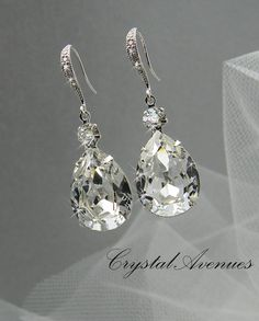 Crystal Bridal Earrings Bridal Jewelry Bridal Necklace Swarovski Crystal Earrings Bridal Jewelry, Lilliana Crystal Drop Earrings - Crystal Bridal Earrings Wedding Jewelry Swarovski Crystal Wedding Bridal Jewelry Earrings, Bridal D - Bracelet Rose Gold, Bridal Bracelet, Bridal Necklace, Wedding Earrings, Wedding Jewelry, Swarovski Crystal Earrings, Crystal Pendant, Crystal Drop, Crystal Necklace
