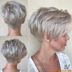 50 Mind-Blowing Simple Short Hairstyles for Fine Hair 2019 50 Mind-Blowing Simple Short Hairstyles for Fine Hair hair is not a curse. Hair of this type is very appealing if properly handled. Cute Short Haircuts, Thin Hair Haircuts, Round Face Haircuts, Short Hairstyles For Women, Bob Hairstyles, School Hairstyles, Stylish Hairstyles, Office Hairstyles, Anime Hairstyles