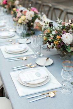 Romantic California Wedding Inspiration - MODwedding