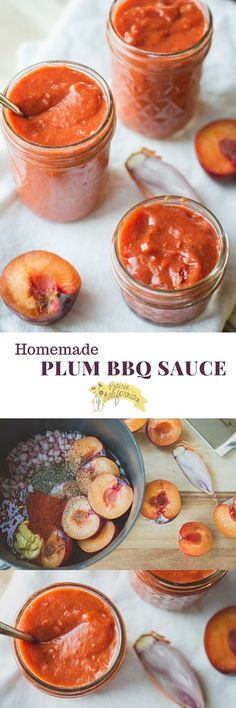 Homemade Plum BBQ Sauce - Prairie Californian