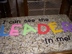 Leader in Me Bulletin Boards | Bulletin board... with a mirror