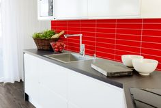 Smartpanel Kitchen Line 24 RHG 5x30   Smartpanel Kitchens, Kitchen Cabinets, Home Decor, Decoration Home, Room Decor, Cabinets, Kitchen, Cuisine, Home Interior Design