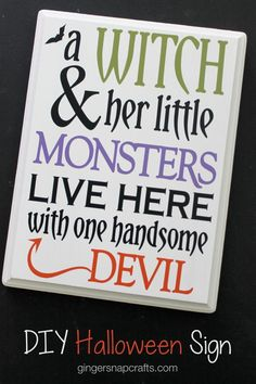"""Ginger Snap Crafts: DIY Halloween Sign with Happy Crafters /happycrafters/ <a class=""""pintag searchlink"""" data-query=""""%23sponsored"""" data-type=""""hashtag"""" href=""""/search/?q=%23sponsored&rs=hashtag"""" rel=""""nofollow"""" title=""""#sponsored search Pinterest"""">#sponsored</a>"""