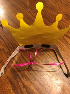 a6af5b2889 Idea for small kids wearing solar viewing glasses  punch holes in the arms  of solar